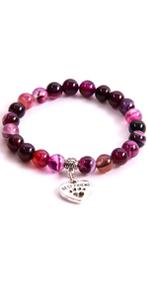 Amethyst Best Friends Bracelet