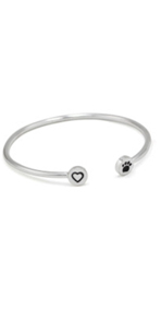 Hearts and Paws Bangle